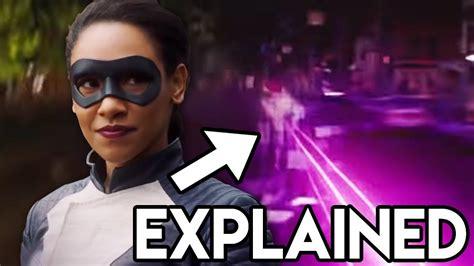 Iris West Purple Lightning Explained