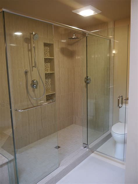 bathroom niche ideas shower doors fixtures