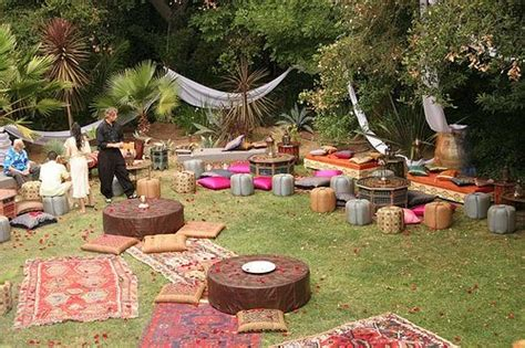 Bohemian Backyard Wedding by Bohemian Wedding Bohemian Wedding 2032765 Weddbook