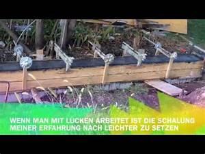 Fundament Für Mauer : fundament und sichtbeton gartenmauer selber machen youtube ~ Whattoseeinmadrid.com Haus und Dekorationen
