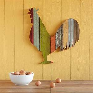 Wood, Crafts, Ideas, Charming, Roosters, To, Jazz, Up, Room, Decor