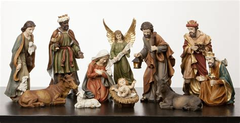 large nativity figures full add on set pictures