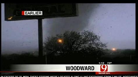 massive damage fatalities  tornado strikes woodward
