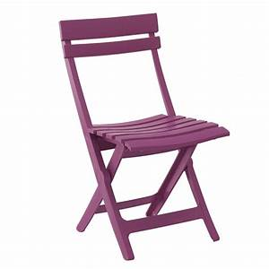 Chaise Pliante De Jardin : chaise pliante jardin miami grosfillex zendart design ~ Teatrodelosmanantiales.com Idées de Décoration