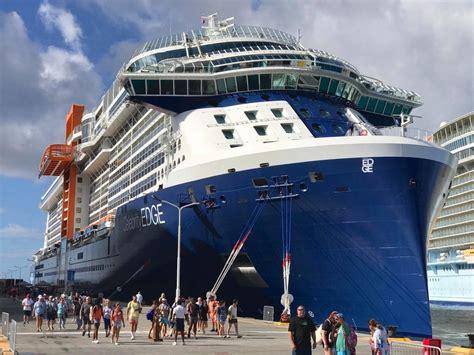 St Maarten Welcomes New Celebrity Edge  Cruise Industry