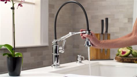 The Articulating Kitchen Faucet by Brizo®   YouTube
