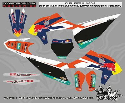 ktm sx sxf xc xcf decals deco stickers graphics kit 125 450cc 2019 178 00 picclick