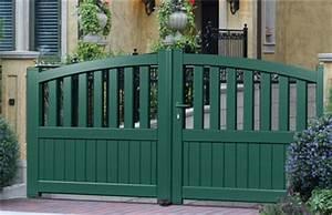 Portail Alu 3m : portail alu battant 3m barriere alu exterieur expression ~ Melissatoandfro.com Idées de Décoration