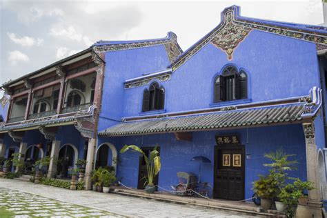 un peu d histoire dans la maison bleue de penang