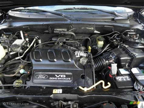 2003 Escape V6 Engine Diagram by 2002 Ford Escape Xlt V6 4wd 3 0 Liter Dohc 24 Valve V6