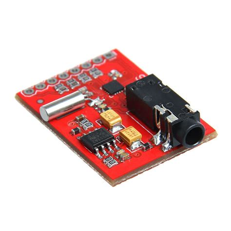 geeetech evaluation board breakout for si4703 fm tuner