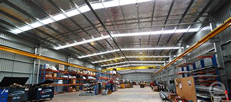 Production & Manufacturing Facilities - Central Steel Build