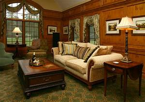 Old, World, Library, -, Traditional, -, Living, Room, -, Cleveland