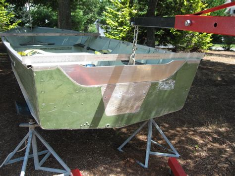 Boat Transom Weight by Aluminum Utility Question Would This Be Much Weight