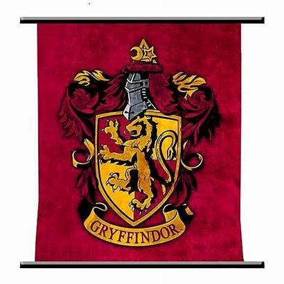 Gryffindor Potter Crest Harry Hogwarts Wall Scroll