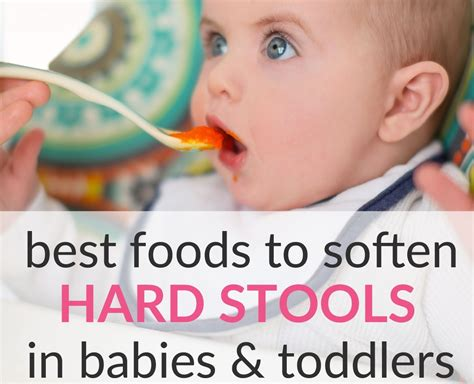 Best Foods To Soften Hard Stools In Babies Toddlers