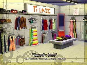 My Sims 4 Blog: Objects - Decorative Clothing | Closet ...
