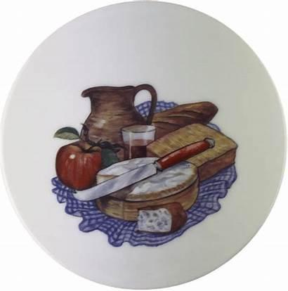 Cheese Cloth Tile Jug Apple Mayama
