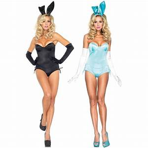 Play Bunny Costume Adult Womens Sexy Rabbit Cocktail Girl ...