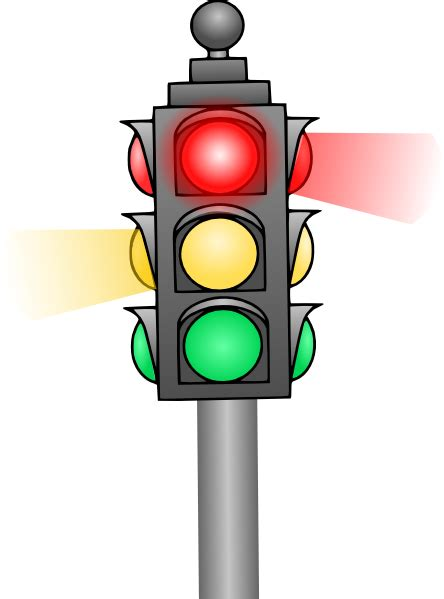 stop light picture traffic light clip at clker vector clip