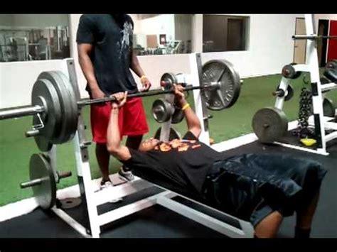 jody banister md bench press 300 lbs az cardinals wr steve breaston bench