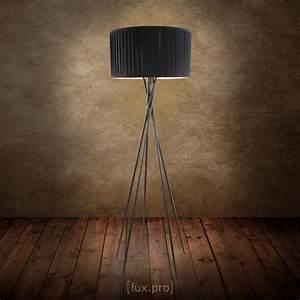 Stehlampe Brauner Schirm : moderne stehleuchte led dimmbar steh lampe stehlampe standleuchte leselampe ebay ~ Markanthonyermac.com Haus und Dekorationen