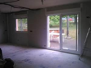 peinture deco de notre cuisine salon ouvert With attractive quel mur peindre en fonce 1 deco cuisine sejour salon page 1