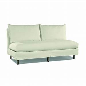 Small armless sectional sofa hotelsbacaucom for Sectional sofas free shipping