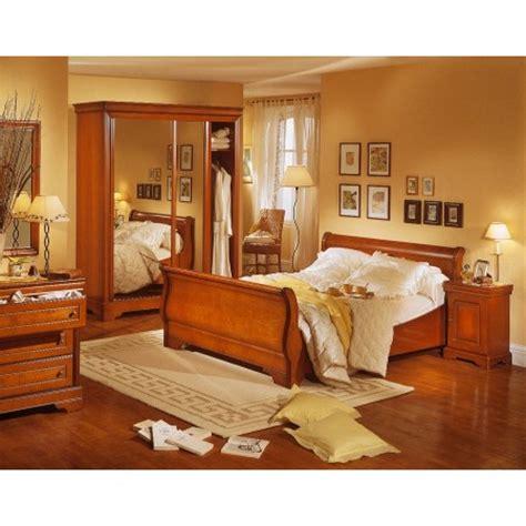 chambre louis philippe merisier massif décoration chambre louis philippe