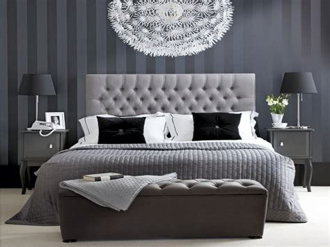 Black White And Gray Bedroom Ideas by Hotel Chic Bedroom Black White And Grey Bedroom Ideas