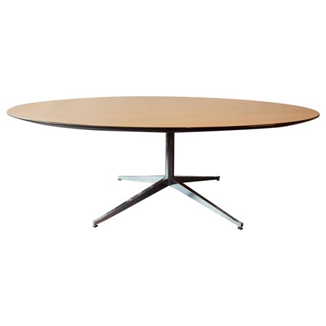 round conference table for 6 round dining or conference table by florence knoll for