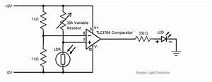 Wiring  U0026 Diagram Info  Light Detector Circuit