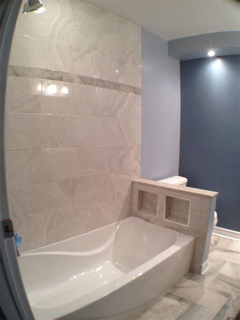 knee wall glass toilet 2227 scrapbook shower behind 2228 hidden vanity surround graydon piece