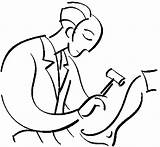 Doctor Coloring Pages sketch template