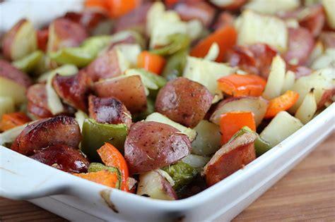 smoked polish sausage  potato bake recipe cullys kitchen