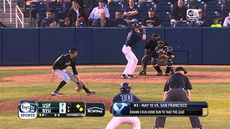 Byu Baseball Top 10 Plays Of 2013