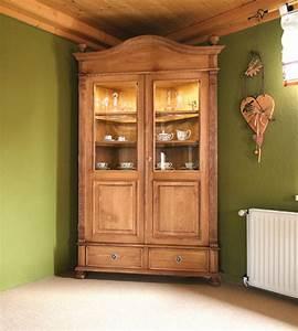 Einzelbetten Aus Holz : landhaus vitrine mit glast ren 2 t rig klein massiv aus holz ~ Markanthonyermac.com Haus und Dekorationen