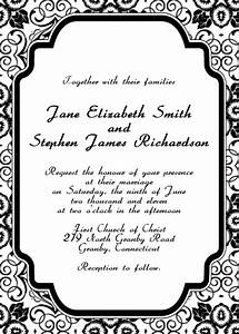 free printable wedding invitation templates hohmannnt With free printable wedding invitations with pictures