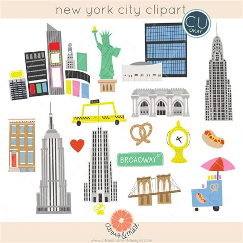New York City Clip New York City Clipart Cilpart