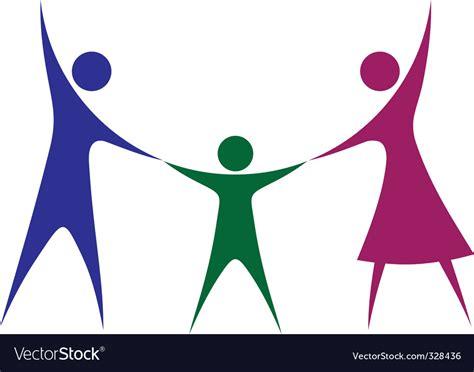 Happy Family Royalty Free Vector Image-vectorstock