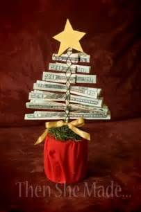 Christmas Gift Idea Money Tree