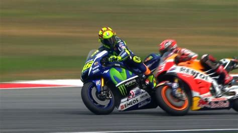 sepangclash rossi  marquez  physical youtube