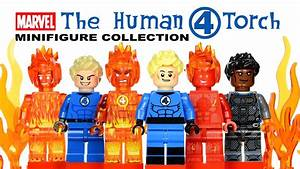 The Human Torch Fantastic Four Marvel Super Heroes LEGO ...