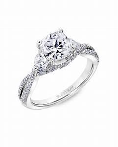 Wedding rings cushion cut wedding ideas for Cushion cut engagement rings with wedding band