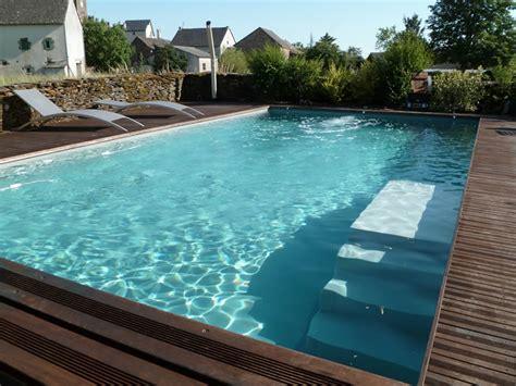 piscine bois avec escalier integre aveyron piscines construit votre piscine couloir de nage ext 233 rieure ou int 233 rieure