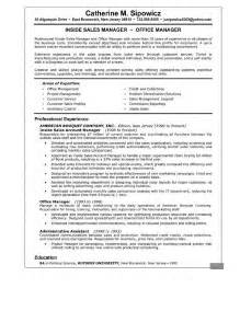 best resume sles pdf account manager objective statement best business template
