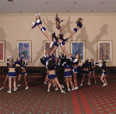 Cheerleading Cheers Stunts