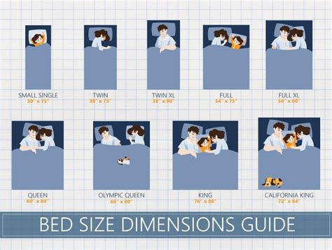 guide   bed sizes coolguides