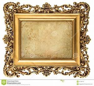 Cadre De Tableau : cadre de tableau d 39 or de style baroque avec la toile photo ~ Dode.kayakingforconservation.com Idées de Décoration
