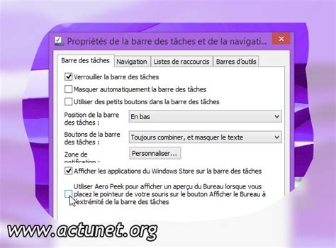 performances du bureau pour windows aero windows 8 activer l 39 apercu du bureau aero peek